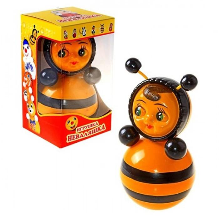 Развивающие игрушки Russia Неваляшка 22 см russia неваляшка зайчик 22 5 см