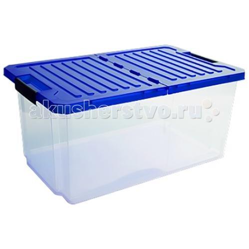 Ящики для игрушек Полимербыт Ящик для хранения игрушек Unibox 12 л ящик для игрушек me to you с ручкой новогодний 2 л