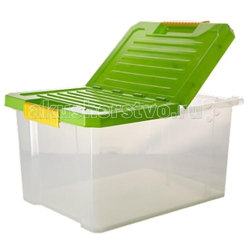 Ящики для игрушек Полимербыт Ящик для хранения игрушек Unibox 17 л ящик для игрушек полимербыт микки маус цвет синий 6 5 л