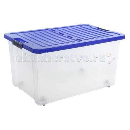 Купить Ящики для игрушек, Полимербыт Ящик для хранения игрушек Unibox 57 л