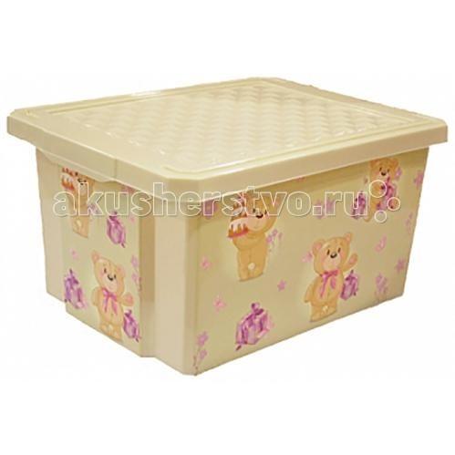 Купить Ящики для игрушек, Полимербыт Ящик для хранения игрушек X-Box 17 л
