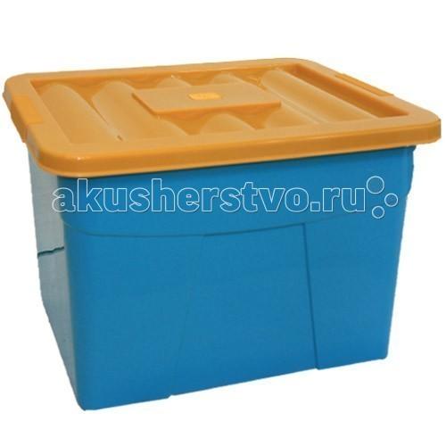 Ящики для игрушек Russia Ящик для игрушек на колесах 60*40*36 см ящик для игрушек на колесах маша и медведь салатовый