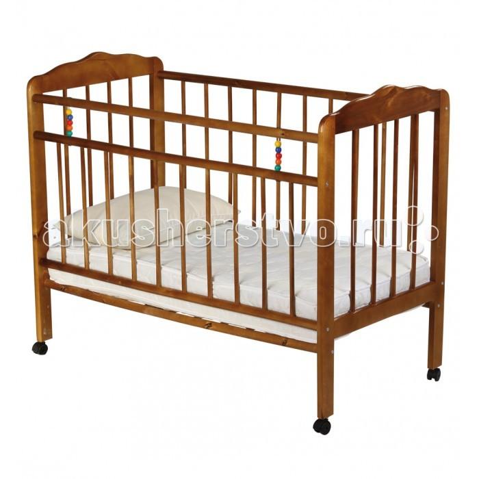 Детская кроватка Russia Женечка-1 колесо