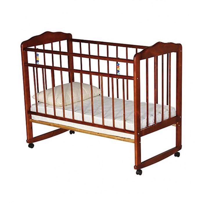 Детская кроватка Russia Женечка-3 колесо-качалка