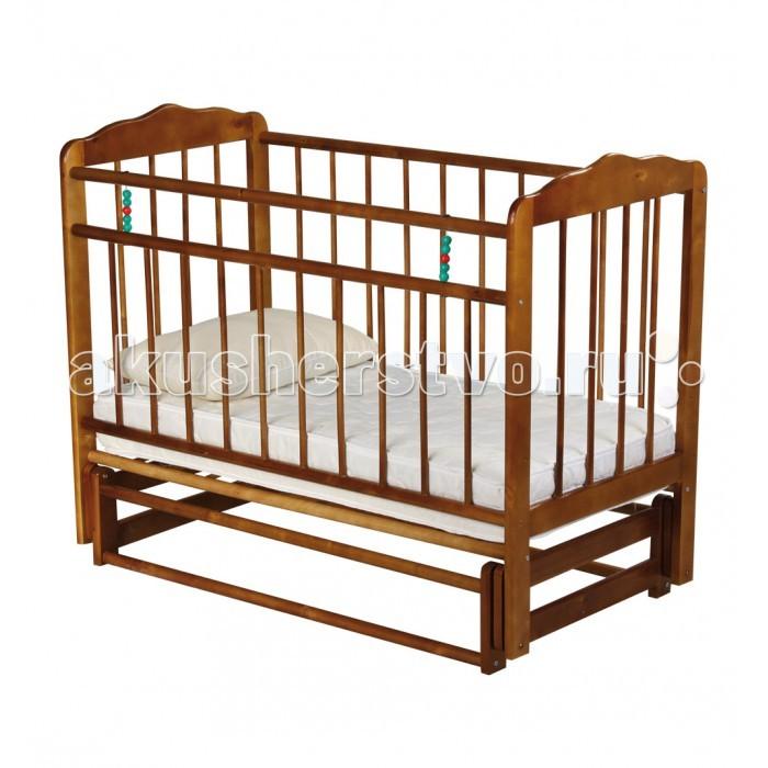 Детская кроватка Russia Женечка-5 поперечный маятник