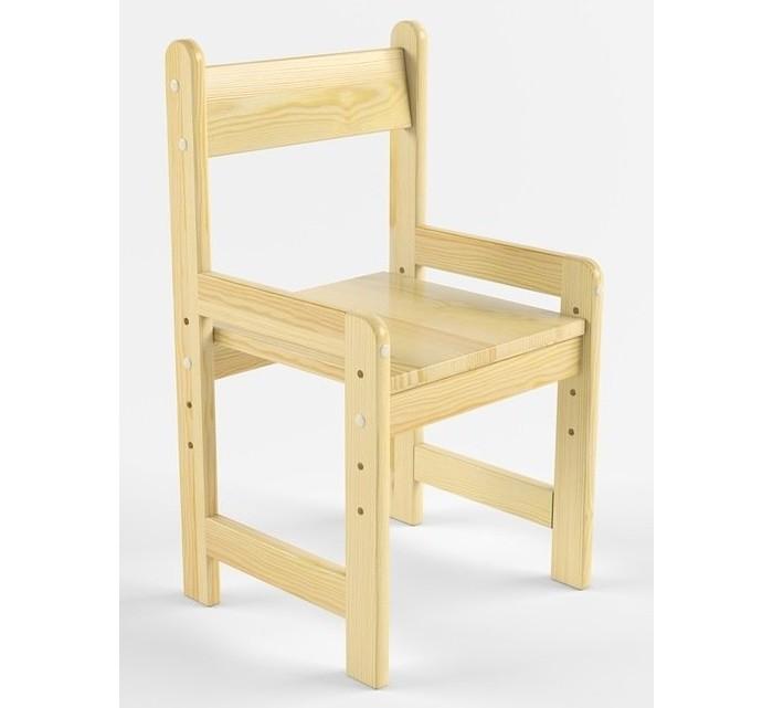 Русские игрушки Растущий стул деревянный не окрашен