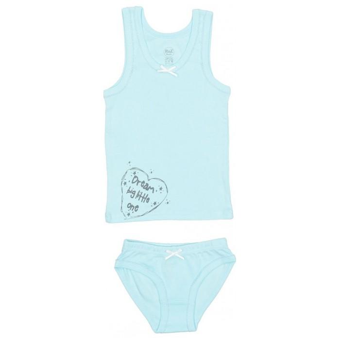 Белье и колготки RuZkids Комплект для девочки (майка, трусики) Dream белье и колготки crockid комплект для мальчика майка и трусики к 1100