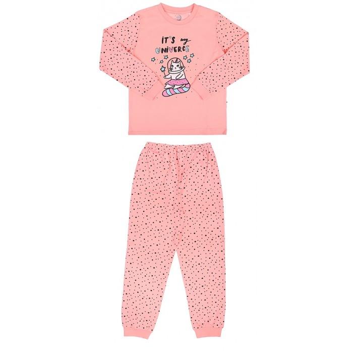 Домашняя одежда RuZkids Пижама для девочки Моя вселенная