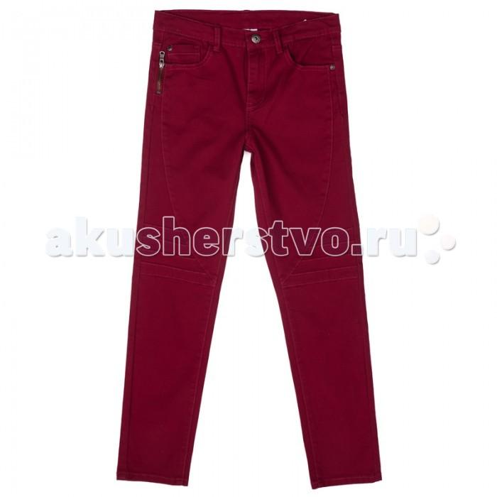 Брюки, джинсы и штанишки S'cool Брюки текстильные джинсовые для мальчиков Рок-фестиваль 373013