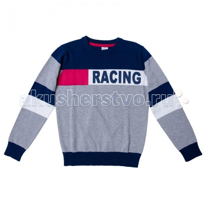 Детская одежда , Джемперы, свитера, пуловеры S'cool Джемпер для мальчика Мотоклуб 173006 арт: 344020 -  Джемперы, свитера, пуловеры