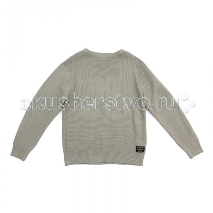 Детская одежда , Джемперы, свитера, пуловеры S'cool Джемпер трикотажный для мальчиков Милитари арт: 381484 -  Джемперы, свитера, пуловеры