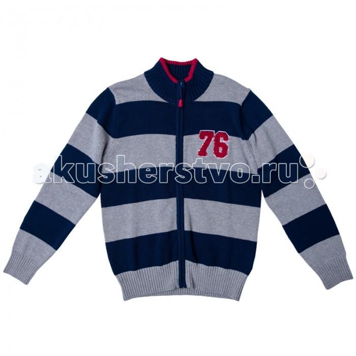 Детская одежда , Кофты и кардиганы S'cool Кардиган для мальчика Мотоклуб 173005 арт: 344010 -  Кофты и кардиганы