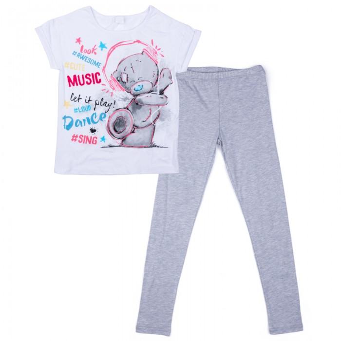 Детская одежда , Комплекты детской одежды S'cool Комплект трикотажный для девочек (фуфайка и брюки) Домашний уют арт: 382609 -  Комплекты детской одежды