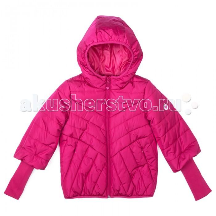 S'cool Куртка текстильная для девочек Городские огни 374002Куртка текстильная для девочек Городские огни 374002Scool Куртка текстильная для девочек Городские огни 374002 - утепленная куртка с капюшоном яркого сочного цвета - хорошее решение для периода смены сезонов. Ткань с водоотталкивающей пропиткой. Капюшон на мягкой резинке, даже во время активных игр капюшон не упадет с головы ребенка. Куртка дополнена вшивными карманами на кнопках. Низ и манжеты куртки на плотной трикотажной резинке. Светоотражатели обеспечат видимость ребенка в темное время суток.  Состав: Верх: 100% нейлон, подкладка: 100% полиэстер, наполнитель: 100% полиэстер, 200 г/м2. Рекомендации по уходу: стирка автомат до 30°<br>