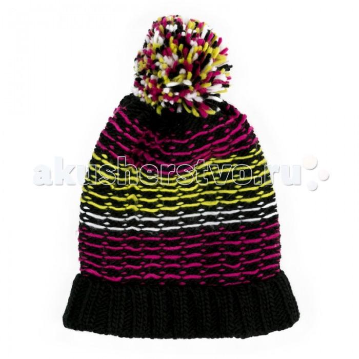 аксессуары s'cool повязка на голову для девочек городские огни 174709 Шапки, варежки и шарфы S'cool Шапка трикотажная для девочек Городские огни 374039