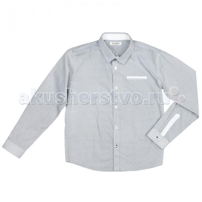 Детская одежда , Блузки и рубашки S'cool Сорочка текстильная для мальчиков Рок-фестиваль 373010 арт: 375384 -  Блузки и рубашки