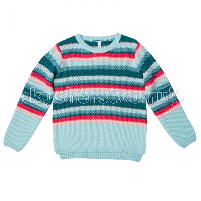 Детская одежда , Джемперы, свитера, пуловеры S'cool Джемпер трикотажный для девочки Best day 174005 арт: 341435 -  Джемперы, свитера, пуловеры