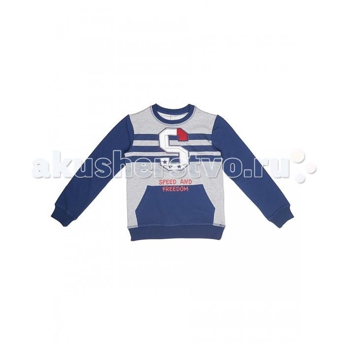 Детская одежда , Толстовки, свитшоты, худи S'cool Толстовка для мальчика Мотоклуб 173024 арт: 342785 -  Толстовки, свитшоты, худи