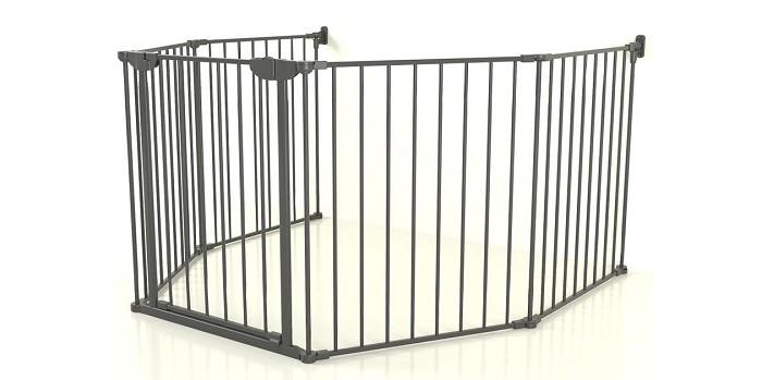 Барьеры и ворота Safe&Care Заграждение XXL 5 Дверца 80 см (5 элементов) компьютерные столы 80 на 60 см