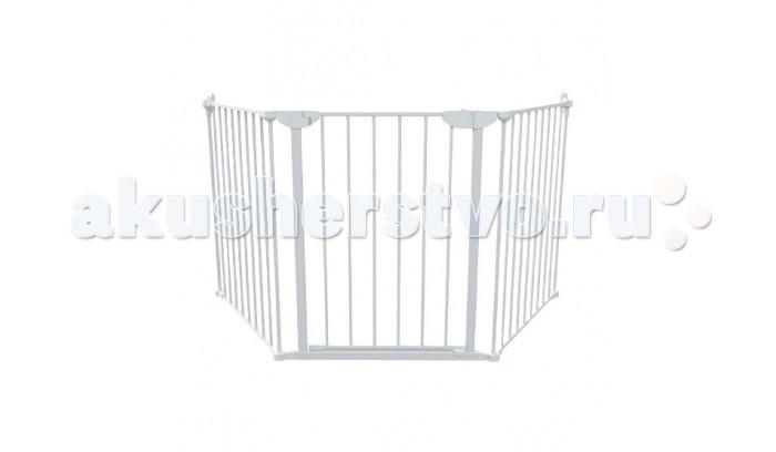 Safe&amp;Care Заграждение XL (3 элемента)Заграждение XL (3 элемента)Заграждение XL Safe & Care 3 элемента, монтирующееся в стены, которое позволяет огородить проемы, камины, зоны повышенной опасности, межкомнатное пространство любой сложности и конфигурации.  В комплекте: 2 «глухие» секции (65 см), 1 секция с воротами (65 см), крепления к стенам.    Особенности:    Ворота представлены в трех цветах: белый, серый и черный.   Минимальная ширина ограждаемого пространства - 90 см.  Максимальная ширина без дополнительных элементов удлинения 195 см.  Для установки ворот требуется просверлить отверстия в дверном проеме    Для увеличения ширины заграждения Safe & Care XL 3, вы можете приобрести дополнительные элементы удлинения. Эти доп. секции позволяют увеличивать ширину ограждения до бесконечности. Варианты дополнительных секций: Дополнительный элемент 20 см Safe & Care –арт. 715-20 Дополнительный элемент 65 см Safe & Care – арт. 715-60 Дополнительная калитка 65 см Safe & Care – арт. 716-50<br>