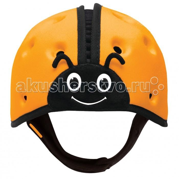 Безопасность ребенка , Защита на прогулке SafeheadBaby Мягкая шапка-шлем для защиты головы Божья коровка арт: 363512 -  Защита на прогулке