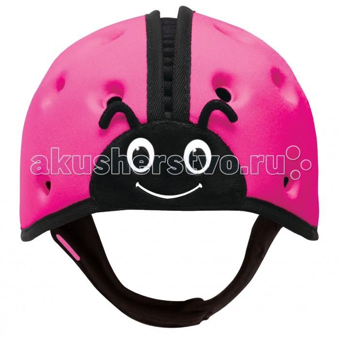 Защита на прогулке SafeheadBaby Мягкая шапка-шлем для защиты головы Божья коровка, Защита на прогулке - артикул:363512