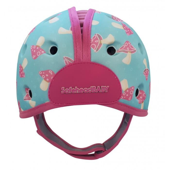 SafeheadBaby Мягкая шапка-шлем для защиты головы Грибы