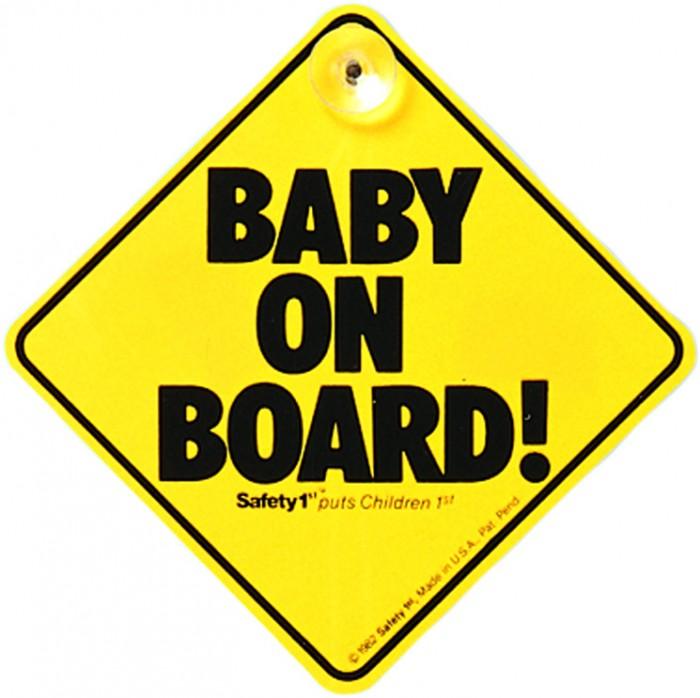 Аксессуары для автомобиля Safety 1st Знак Ребенок в машине на присоске автомобиль