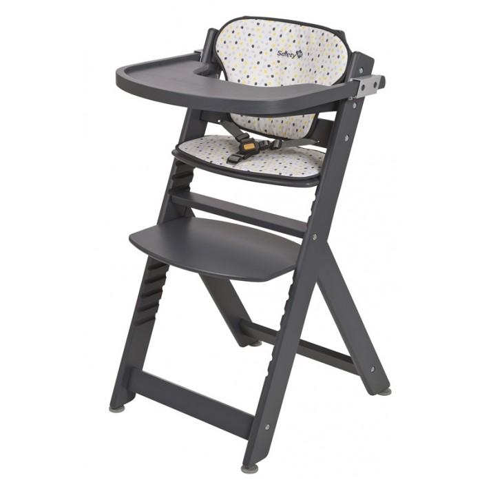 Детская мебель , Стульчики для кормления Safety 1st Timba with Tray and Cushion + мягкий вкладыш арт: 334800 -  Стульчики для кормления