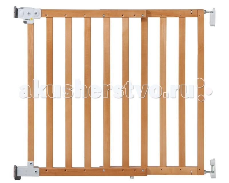 Safety 1st Ворота безопасности Wall Fix wooden extending gate 63-104 см