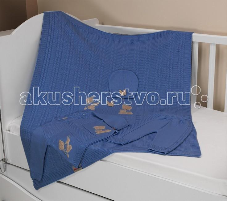 Sansli Комплект одежды 80 см с пледом