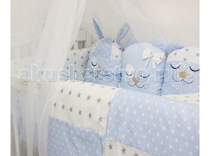 Комплект в кроватку ByTwinz Сп...