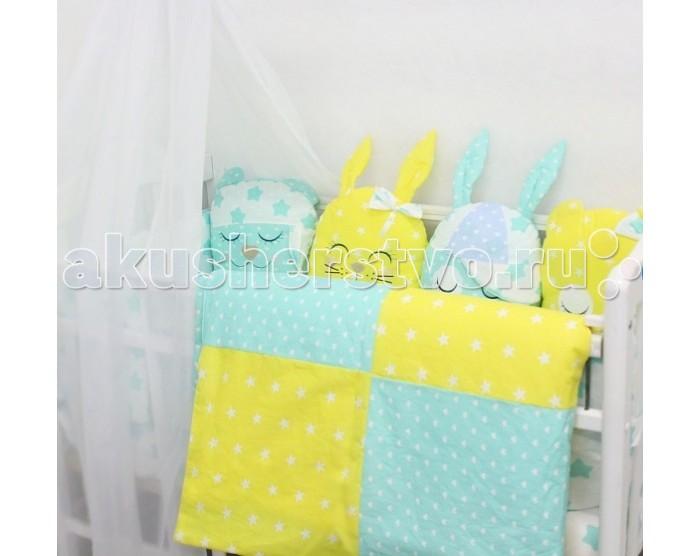 Картинка для Комплект в кроватку ByTwinz Спящие игрушки Друзья (12 предметов)