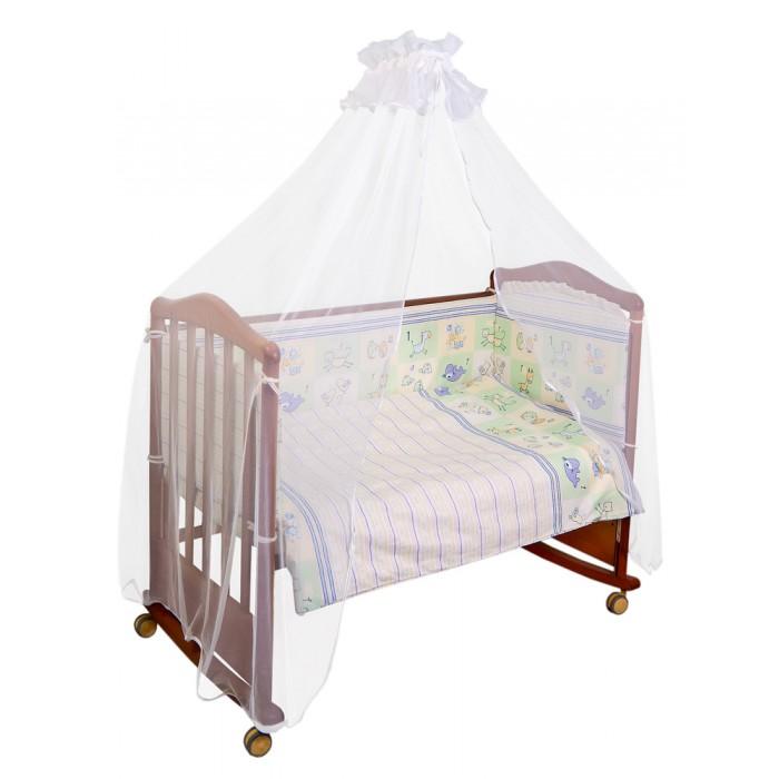 Бортики в кроватку Сонный гномик Считалочка сонный гномик сонный гномик бортик в кроватку считалочка салатовый