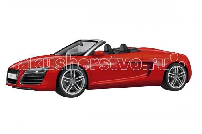 Schuco Автомобиль Audi R8 Spyder 1:43Автомобиль Audi R8 Spyder 1:43Schuco Автомобиль Audi R8 Spyder 1:43 представляет собой масштабную копию настоящего автомобиля.  Особенности: Он выполнен из высококачественного пластика и металла — материалов, чье удачное сочетание позволило добиться не только предельной прочности игрушки, но и ее отличной детализации.  Машинка способна двигаться в переднем направлении. Для этого его следует отвести немного назад, а затем резко отпустить. В этом случае сработает фрикционный механизм и машинка поедет вперед.<br>
