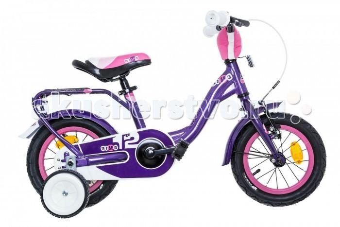 Велосипед двухколесный Scool niXe 12niXe 12Детский велосипед Scool niXe 12 для детей с ростом от 90 см от 2-х лет. Специально заниженная алюминиевая рама для удобства в посадке и безопасность при соскоке на раму. Регулировка подъёма руля по высоте для выбора оптимальной посадки.   Полноразмерные металлические крылья для лучшей защиты от грязи. Защитный кожух на цепь предотвращает попадания штанов в систему. Классический педальный тормоз, плюс ручной тормоз переднего колеса.   Вес - 9.4 кг Размер колёс - 12 Рама велосипеда - S'COOL Junior LE 12 6061 alloy Вилка - HiTen Тип тормозов - V-brake Количество скоростей - 1 Руль - Junior Uprise 500 mm black Обмотка руля/грипсы - Softgrip 100 mm buffle protection Вынос - with Crash pad Тормозные ручки - Kids ajustable Передний тормоз - V-Brake+Power Adjuster Задний тормоз - Coaster brake Передняя втулка - alloy black Задняя втулка - Coaster brake, black Обода колес - LA-05 alloy black Покрышки - SCOOL Speedster 12 x 2.00 Ballon Reflex Logo Кассета - 16 T Каретка - VP-BC 73 Compact Система - SOFOH 28 T, 89 mm, black Педали - VP-220 Ball-bearings Крылья - S'COOL Junior Design steel color Подседельный штырь - YP 27.2 mm, black<br>