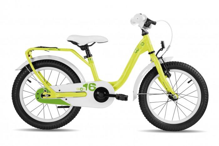 Двухколесные велосипеды Scool niXe 16 steel тормоз для самоката blunt otr warrick nylon brake v1 black light blue