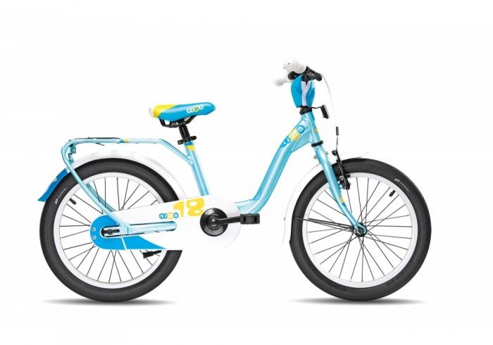 Велосипед двухколесный Scool niXe 18niXe 18Детский велосипед Scool niXe 18 для детей с ростом от 110 см от 5-и лет. Специально заниженная алюминиевая рама для удобства в посадке и безопасность при соскоке на раму. Регулировка подъёма руля по высоте для выбора оптимальной посадки.   Полноразмерные металлические крылья для лучшей защиты от грязи. Защитный кожух на цепь предотвращает попадания штанов в систему. Классический педальный тормоз, плюс ручной тормоз переднего колеса.   Вес - 10.5 кг Размер колёс - 18 Рама велосипеда - S'COOL Junior LE 18 6061 alloy Вилка - HiTen Тип тормозов - Ножной Количество скоростей - 1 Руль - Junior Uprise 500 mm black Обмотка руля/грипсы - Softgrip 100 mm buffle protection Вынос - with Crash pad Тормозные ручки - Kids ajustable Передний тормоз - V-Brake+Power Adjuster Задний тормоз - Coaster brake Передняя втулка - alloy black Задняя втулка - Coaster brake, black Обода колес - LA-05 alloy black Покрышки - SCOOL Speedster 18 x 2.00 Ballon Reflex Logo Кассета - 18 T Каретка - VP-BC 73 Compact Система - SOFOH 32 T, 114 mm, black Педали - VP-220 Ball-bearings Крылья - S'COOL Junior Design steel color Подседельный штырь - YP 27.2 mm, black<br>
