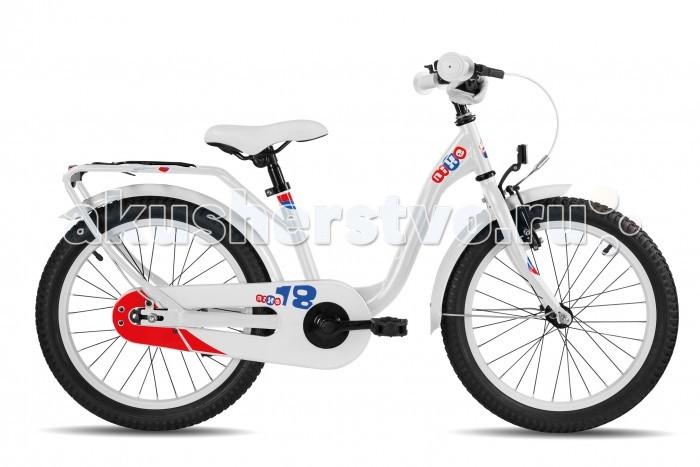 Велосипед двухколесный Scool niXe 18 steelniXe 18 steelДетский велосипед Scool niXe 18 steel для детей с ростом от 110 см от 5-и лет. Специально заниженная стальная рама для удобства в посадке и безопасность при соскоке на раму. Регулировка подъёма руля по высоте для выбора оптимальной посадки.   Полноразмерные металлические крылья для лучшей защиты от грязи. Защитный кожух на цепь предотвращает попадания штанов в систему. Классический педальный тормоз, плюс ручной тормоз переднего колеса.   Вес - 11.9 кг Размер колёс - 18 Рама велосипеда - S'COOL Junior LE 18 steel Вилка - HiTen Тип тормозов - V-brake  Количество скоростей - 1 Руль - Junior Uprise 500 mm black Обмотка руля/грипсы - Softgrip 100 mm buffle protection Вынос - with Crash pad Тормозные ручки - Kids ajustable Передний тормоз - V-Brake+Power Adjuster Задний тормоз - POWER Coaster brake  Передняя втулка - SCOOL steel black  Задняя втулка - Coaster brake, black Обода колес - alloy color Покрышки - SCOOL Kids 18 x 2.25  Кассета - 16 T Каретка - CC-886, Ball Bearing  Система - SHUN 32 T, 114 mm, black Педали - HF-316 mit Reflektoren with reflectors Крылья - S'COOL Junior Design steel color Подседельный штырь - steel, black<br>