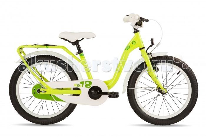 Двухколесные велосипеды Scool niXe 18 steel тормоз для самоката blunt otr warrick nylon brake v1 black light blue