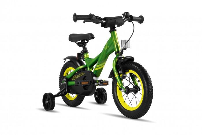 Велосипед двухколесный Scool XXlite 12 steelXXlite 12 steelДетский велосипед Scool XXlite 12 steel для детей с ростом от 90 см от 2-х лет. Велосипед собран на современной стальной раме и имеет все необходимое: регулировка подъёма руля по высоте для выбора оптимальной посадки, полноразмерные металлические крылья для лучшей защиты от грязи.   Защитный кожух на цепь предотвращает попадания штанов в систему. Классический педальный тормоз, плюс ручной тормоз переднего колеса.   Вес - 9.3 кг Размер колёс - 12 Рама велосипеда - S'COOL Junior XX 12 steel  Вилка - HiTen Тип тормозов - V-brake  Количество скоростей - 1 Руль - Junior Uprise 460 mm black Обмотка руля/грипсы - MCI Softgrip 100 mm buffle protection Вынос - with Crash pad Neopren Тормозные ручки - Kids ajustable Передний тормоз - V-Brake+Power Adjuster Задний тормоз - POWER Coaster brake  Передняя втулка - SCOOL steel black  Задняя втулка - POWER Coaster brake  Обода колес - alloy color Покрышки - S'COOL Kids MTB 12 x 2.125 Кассета - 16 T Каретка - CC-886, Ball Bearing Система - SHUN 26 T, 89 mm, black  Педали - HF-316 mit Reflektoren with reflectors Крылья - S'COOL Junior Design steel color Подседельный штырь - steel, black<br>