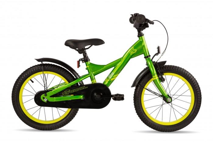 Велосипед двухколесный Scool XXlite 16 steelXXlite 16 steelДетский велосипед Scool XXlite 16 steel для детей с ростом от 100 см от 3-х лет. Велосипед собран на современной стальной раме и имеет все необходимое: регулировка подъёма руля по высоте для выбора оптимальной посадки, полноразмерные металлические крылья для лучшей защиты от грязи.   Защитный кожух на цепь предотвращает попадания штанов в систему. Классический педальный тормоз, плюс ручной тормоз переднего колеса.   Вес - 10.3 кг Размер колёс - 16 Рама велосипеда - S'COOL Junior XX 16 steel  Вилка - HiTen Тип тормозов - V-brake  Количество скоростей - 1 Руль - Junior Uprise 500 mm black Обмотка руля/грипсы - Softgrip 100 mm buffle protection Вынос - with Crash pad Neopren Тормозные ручки - Kids ajustable Передний тормоз - V-Brake+Power Adjuster Задний тормоз - POWER Coaster brake  Передняя втулка - SCOOL steel black  Задняя втулка - POWER Coaster brake  Обода колес - alloy color Покрышки - S'COOL Kids MTB 16 x 2.175 Кассета - 16 T Каретка - CC-886, Ball Bearing Система - SHUN 28 T, 114 mm, black  Педали - HF-316 mit Reflektoren with reflectors Крылья - S'COOL Junior Design steel color Подседельный штырь - steel, black<br>