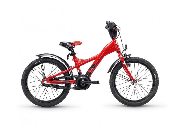 Велосипед двухколесный Scool XXlite 18 Nexus 3 скоростиXXlite 18 Nexus 3 скоростиДетский велосипед Scool XXlite 18 для детей с ростом от 110 см от 5-и лет. Велосипед собран на современной облегченной раме и имеет все необходимое: регулировка подъёма руля по высоте для выбора оптимальной посадки, полноразмерные металлические крылья для лучшей защиты от грязи.   Защитный кожух на цепь предотвращает попадания штанов в систему. Классический педальный тормоз, плюс ручной тормоз переднего колеса. На велосипеде установлена планетарная система передач на 3 скорости для более опытных велосипедистов.  Вес - 10.2 кг Размер колёс - 18 Рама велосипеда - S'COOL Junior XX 18 6061 alloy  Вилка - HiTen Тип тормозов - Ножной Количество скоростей - 3 Манетки - SHIMANO Nexus Revo Shifter SL-3S41E  Руль - Junior Uprise 450 mm black Обмотка руля/грипсы - Softgrip 100 mm buffle protection  Вынос - with Crash pad Neopren Тормозные ручки - Kids ajustable Передний тормоз - V-Brake+Power Adjuster Задний тормоз - Coaster brake Передняя втулка - JY 16 H, alloy black  Задняя втулка - Coaster brake Обода колес - LA-07 alloy black Покрышки - S'COOL Cube 18 x 1.75 Reflex Logo Кассета - 18 T Каретка - VP-BC 73 Compact Система - SOFOH 32 T, 114 mm, black Педали - VP-220 Ball-bearings Крылья - S'COOL Junior Design steel color Подседельный штырь - YP 27.2 mm, black<br>