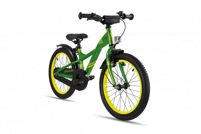 Велосипед двухколесный Scool XXlite 18 steelXXlite 18 steelДетский велосипед Scool XXlite 18 steel для детей с ростом от 110 см от 5-и лет. Велосипед собран на современной стальной раме и имеет все необходимое: регулировка подъёма руля по высоте для выбора оптимальной посадки, полноразмерные металлические крылья для лучшей защиты от грязи.   Защитный кожух на цепь предотвращает попадания штанов в систему. Классический педальный тормоз, плюс ручной тормоз переднего колеса.   Вес - 11.5 кг Размер колёс - 18 Рама велосипеда - S'COOL Junior XX 18 steel  Вилка - HiTen Тип тормозов - V-brake  Количество скоростей - 1 Руль - Junior Uprise 500 mm black Обмотка руля/грипсы - Softgrip 100 mm buffle protection Вынос - with Crash pad Neopren Тормозные ручки - Kids ajustable Передний тормоз - V-Brake+Power Adjuster Задний тормоз - POWER Coaster brake  Передняя втулка - SCOOL steel black  Задняя втулка - POWER Coaster brake  Обода колес - alloy color Покрышки - S'COOL Kids MTB 16 x 2.175 Кассета - 16 T Каретка - CC-886, Ball Bearing Система - SHUN 28 T, 114 mm, black  Педали - HF-316 mit Reflektoren with reflectors Крылья - S'COOL Junior Design steel color Подседельный штырь - steel, black<br>