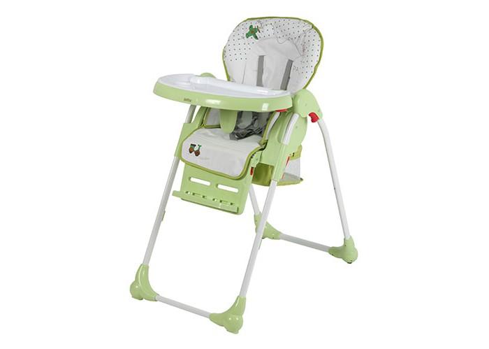 Стульчик для кормления Selby ВН-435Стульчики для кормления<br>Стульчик для кормления Selby ВН-435 - удобный вариант для кормления малышей.   Предназначен для детей в возрасте от 6 мес. до 3-х лет. Мягкое и удобное сидение изготовлено из безопасных и легко чистящихся материалов.  Для предотвращения падения ребенка со стула, он оборудован регулируемым 5-ти точечным ремнем. Складная конструкция модели позволит с удобством перемещать стульчик в помещении.    Особенности: эргономичная конструкция спинки 5-ти точечный ремень безопасности компактно складывается съемный поднос с углублением для посуды корзина для игрушек съемное моющееся сидение 4 положения сидения 3 положения опоры для ног Габариты изделия: 102 х 50 х 85 см. Вес: 8.7 кг