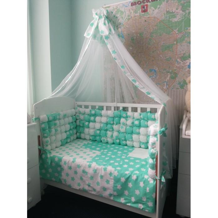 Комплект в кроватку Селена (Сдобина) 125 (7 предметов)