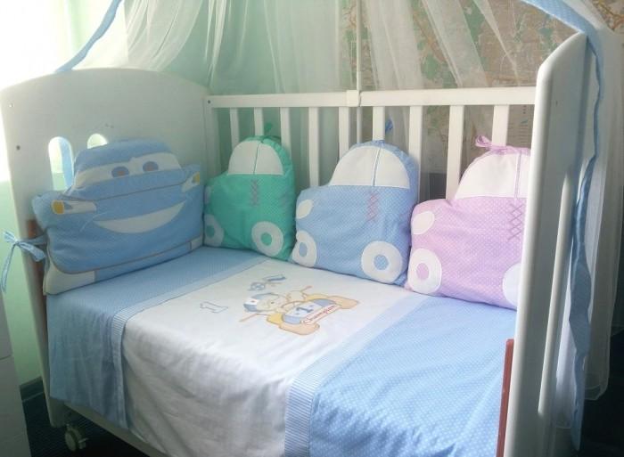 Купить Комплекты в кроватку, Комплект в кроватку Селена (Сдобина) 126 (7 предметов)