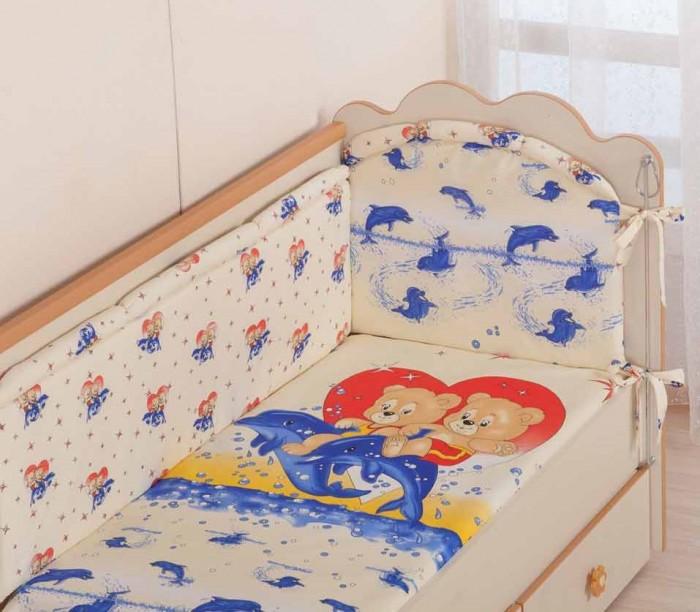 Купить Комплекты в кроватку, Комплект в кроватку Селена (Сдобина) 59 (7 предметов)