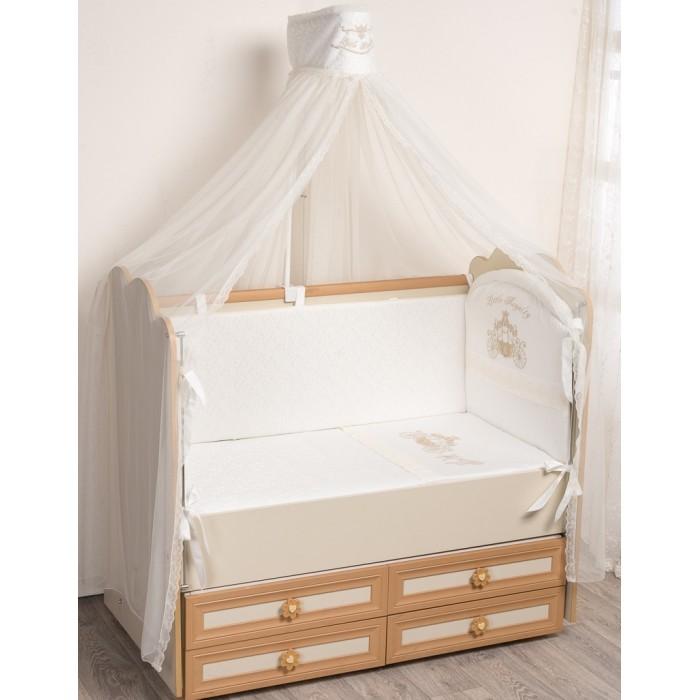 Комплект в кроватку Селена (Сдобина) Маленькое Высочество (6 предметов)