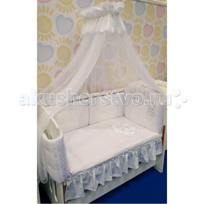 Купить Комплекты в кроватку, Комплект в кроватку Селена (Сдобина) Мишки (7 предметов)